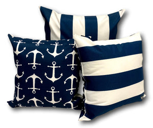 Anchor in Navy Set 3 - 1 Set Only
