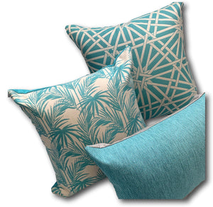 Daintree in Aquamarine 60cm Only - Limited Stock!