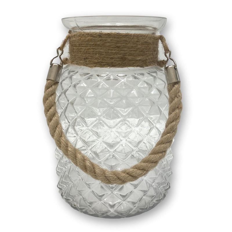 Glass Patterned Lantern