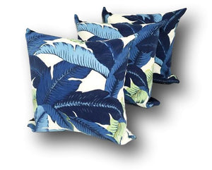 Aloha Palm Trio in Indigo - 3 Pack, Includes Inserts - Order Now for March Delivery