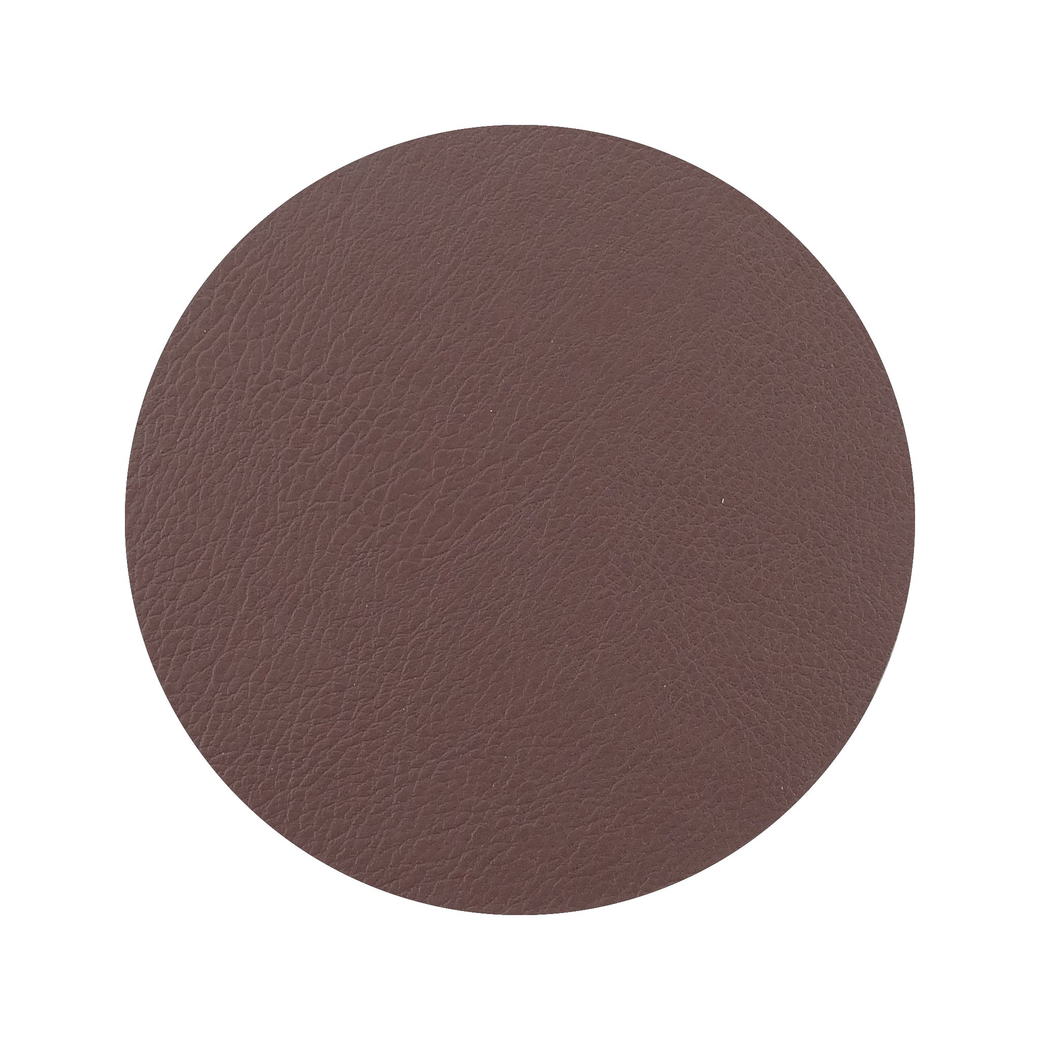 Faux Leather Coaster Set Decorator Collection