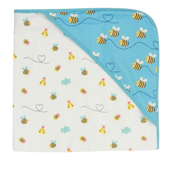 Hooded Baby Blanket - Bumblebee