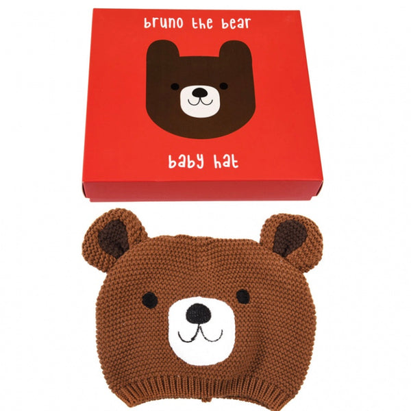 Bruno Bear Baby Hat