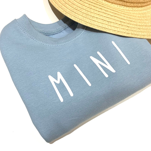 Mini Jumper Blue Fog