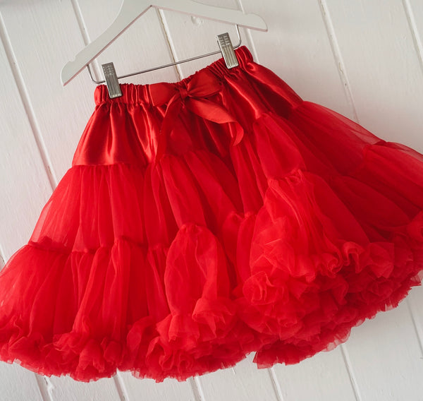 Red Pettiskirt Tutu