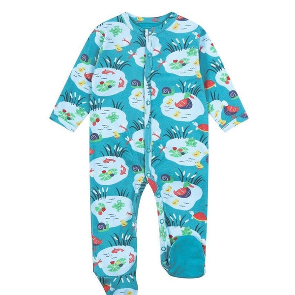 Piccalilly Pond-Life Sleep-Suit