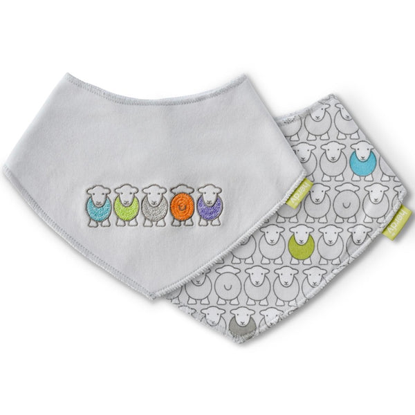 Herdy Twin Pack Bib Set