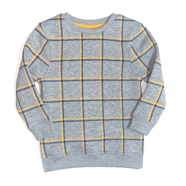 Toy Breaker Windowpane Marl Sweatshirt