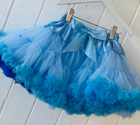 Blue Mix Pettiskirt Tutu