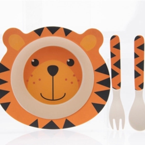 Tiger Bamboo Feeding Set