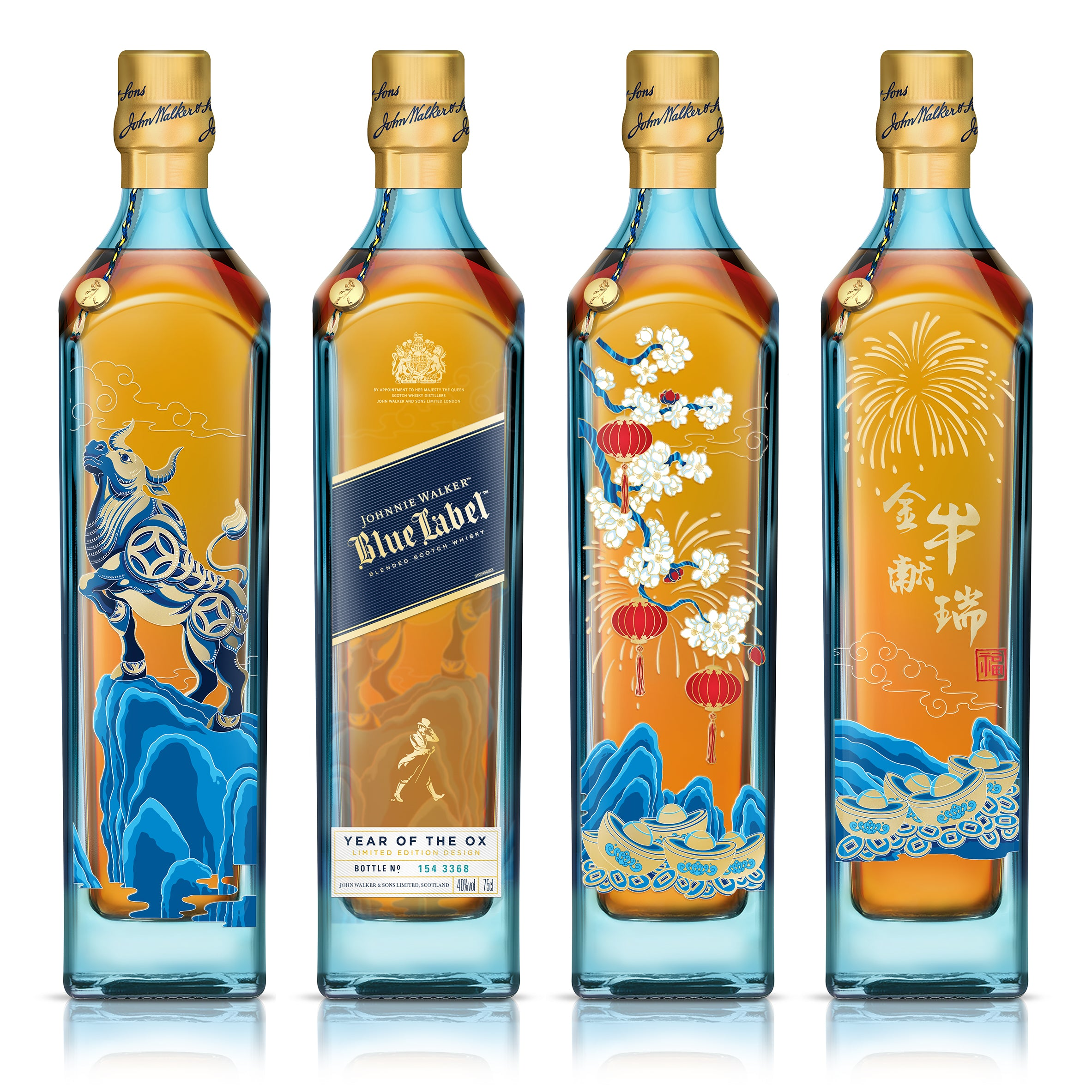 Johnnie Walker Blue Label CNY - Year of the Ox Limited Edition