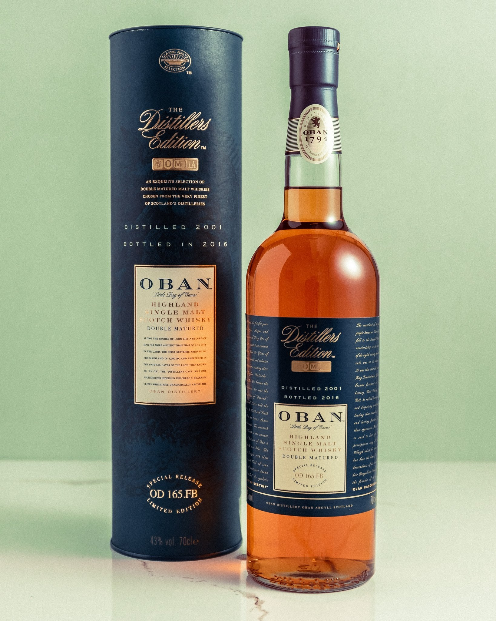Oban Distillers Edition - Gift Set
