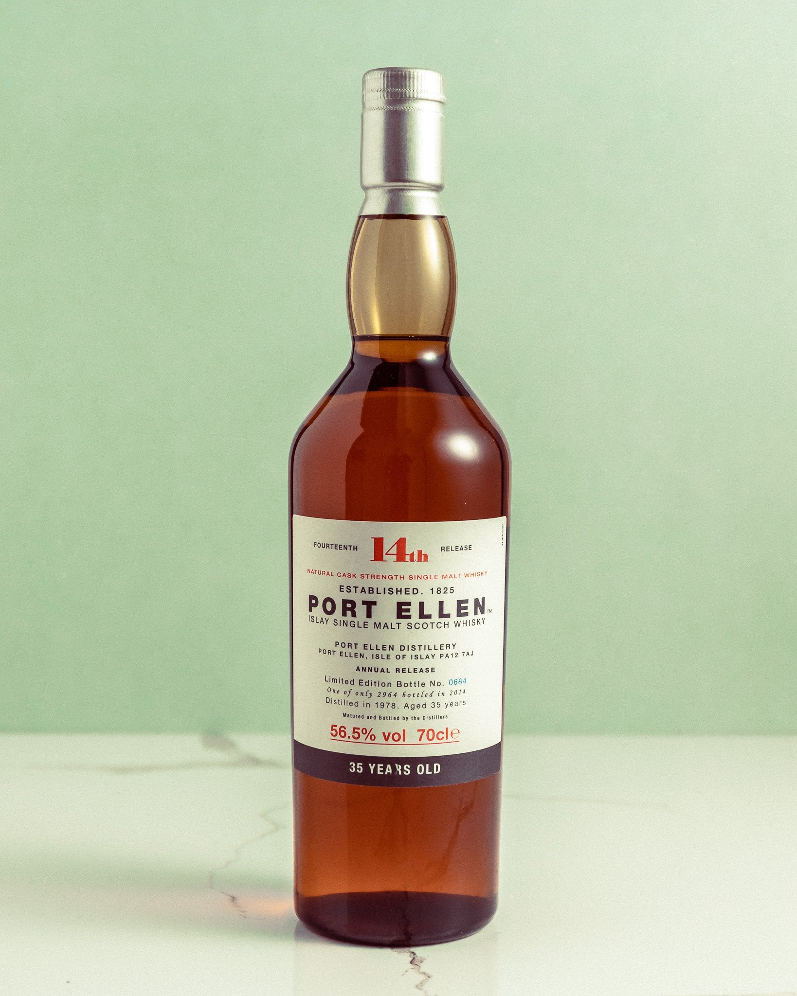 Port Ellen 35 Year old (2014)