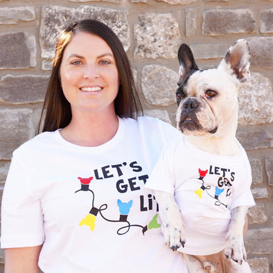 Let's Get Lit - Frenchie Style (Adult Tee)