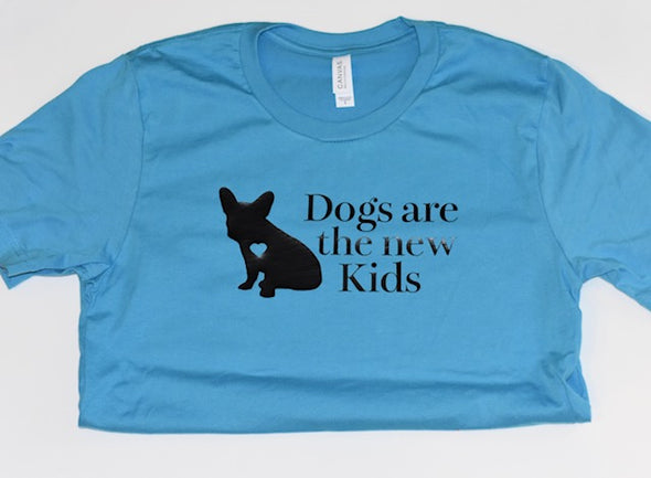 Dogs Are The New Kids Human T-Shirt