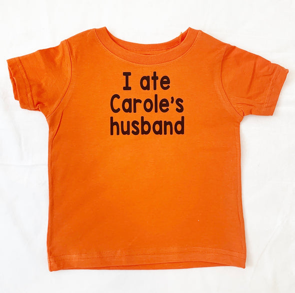 I ate Carole's husband