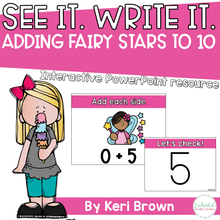 Load image into Gallery viewer, Addition within 10 - See it Write it - Fairy Stars