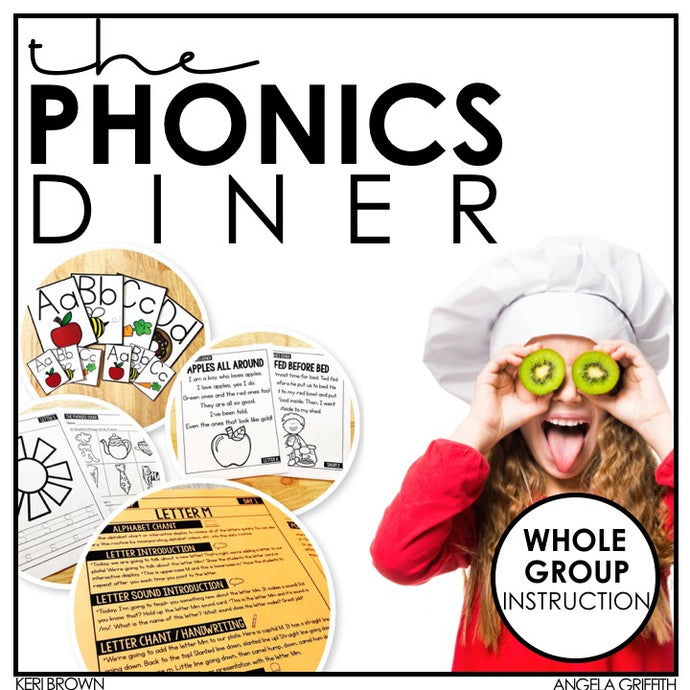 Kindergarten Phonics Curriculum for Whole Group