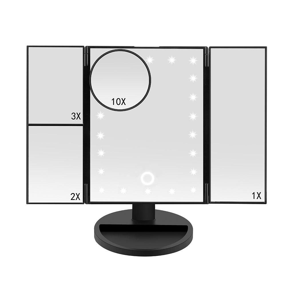 Makeup LED Touch Screen Mirror