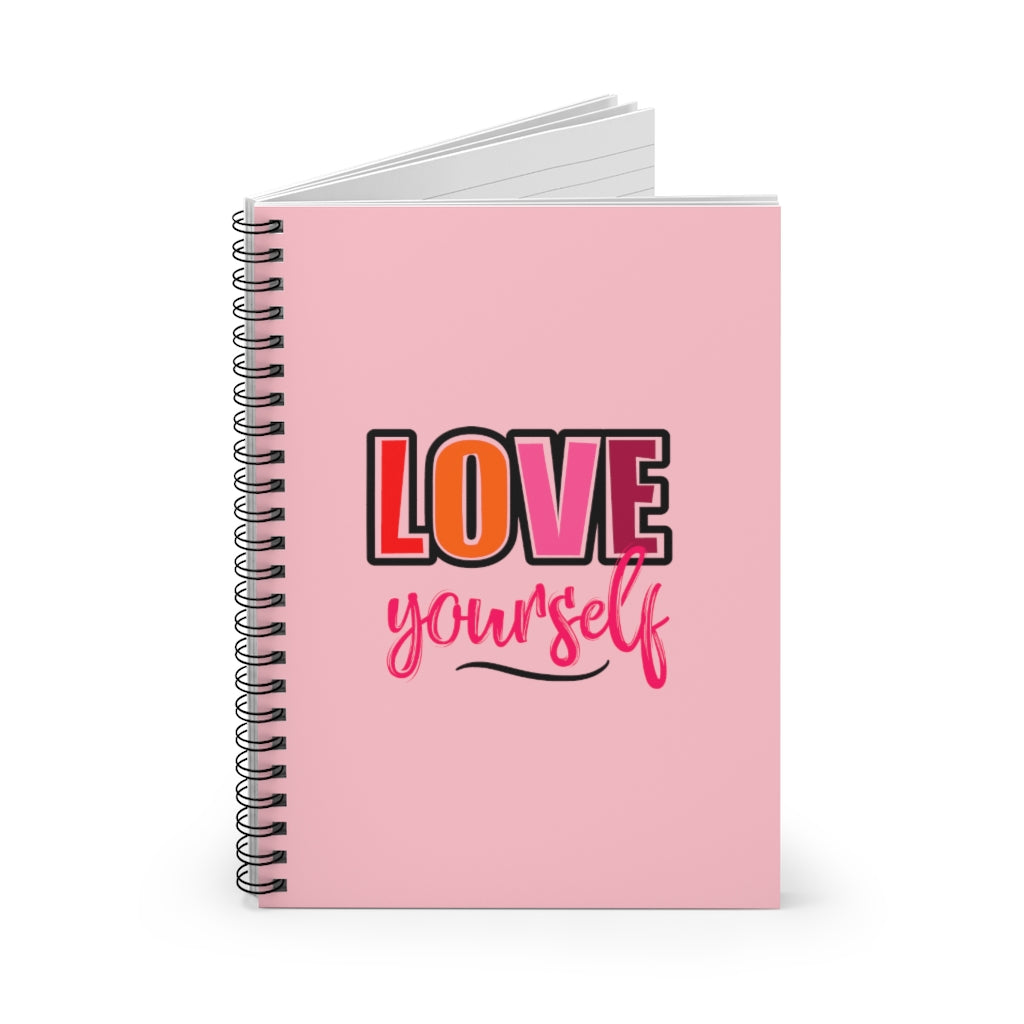 Love Yourself Notebook