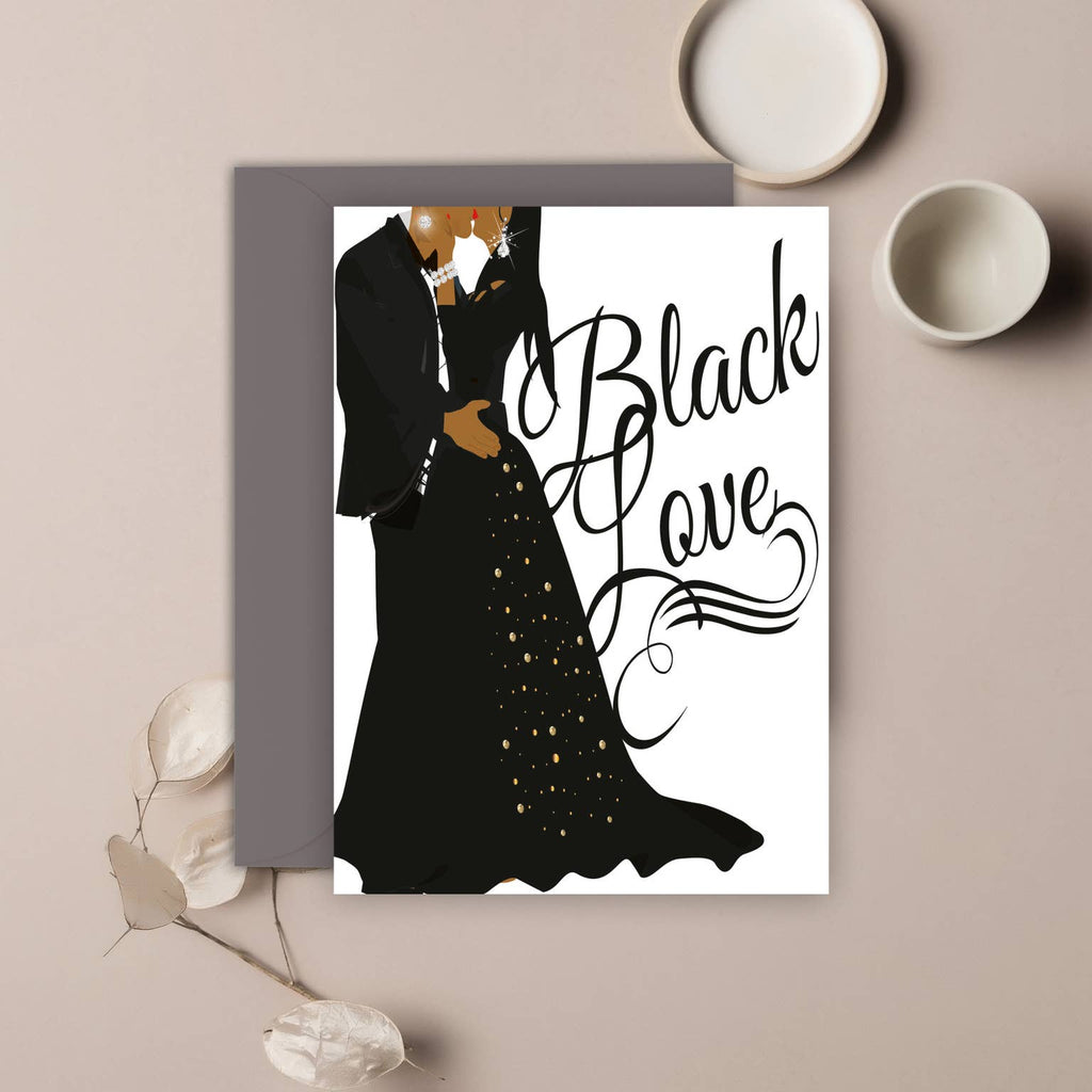Black Love Card