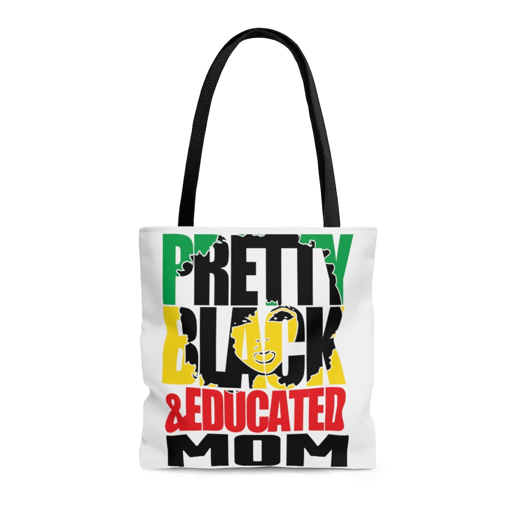 Pretty Black & Educated Tote