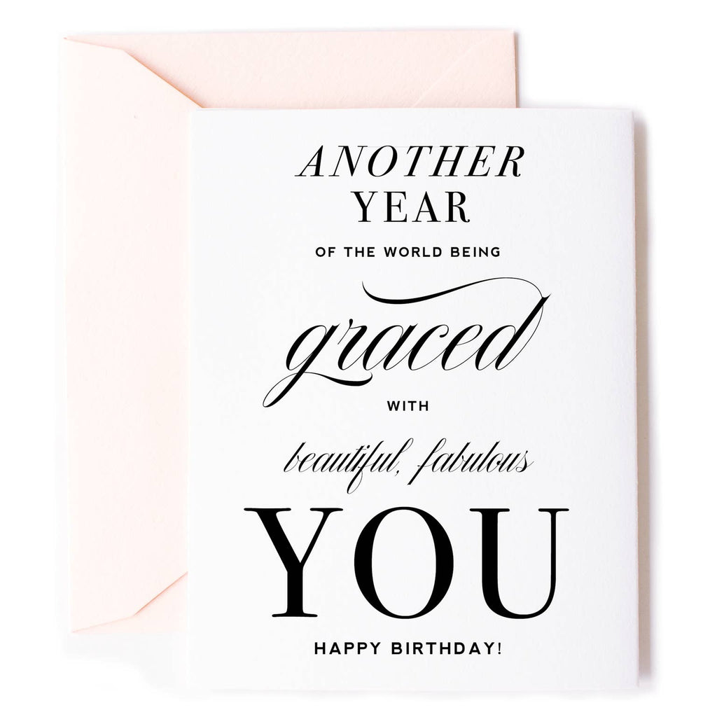 Another Year Graced Card