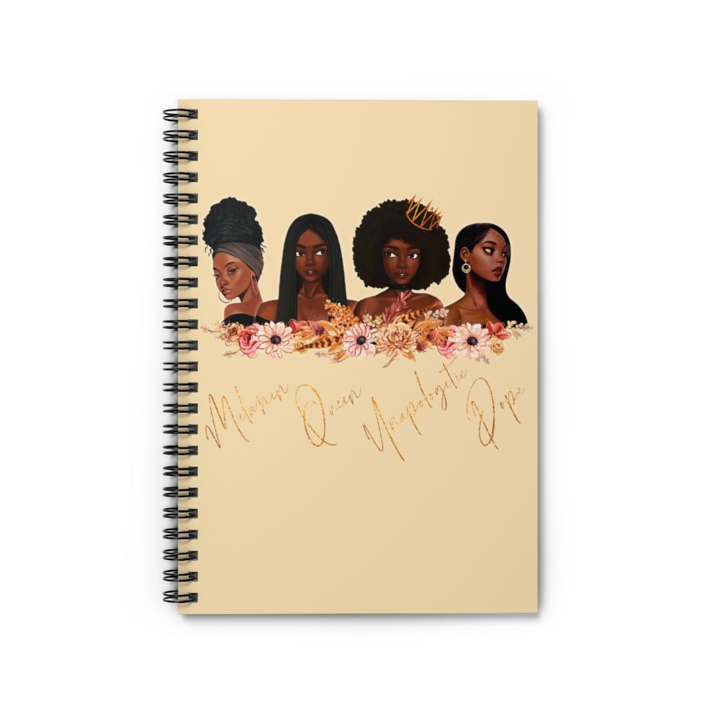 Melanin Queens Notebook