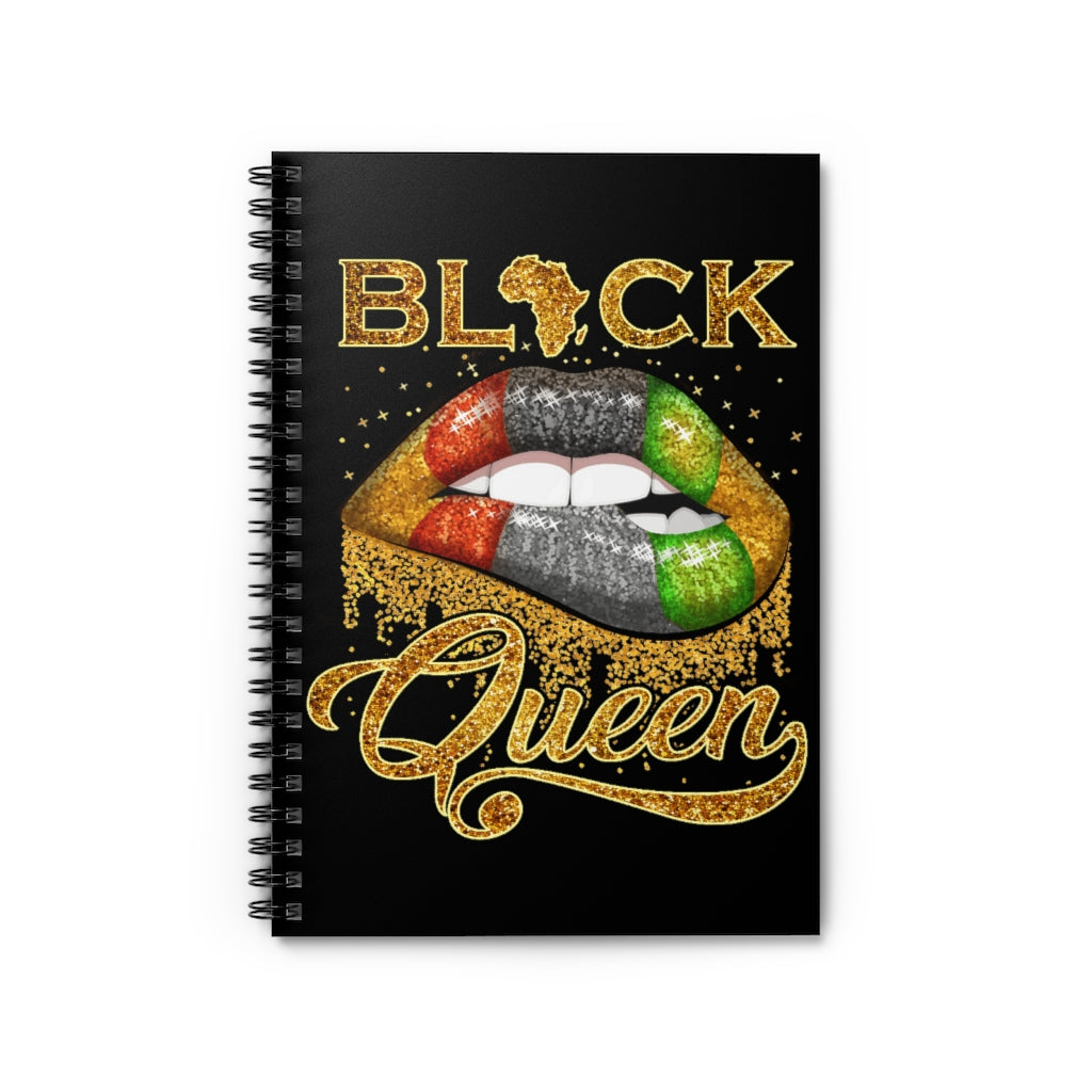 Black Queen Notebook