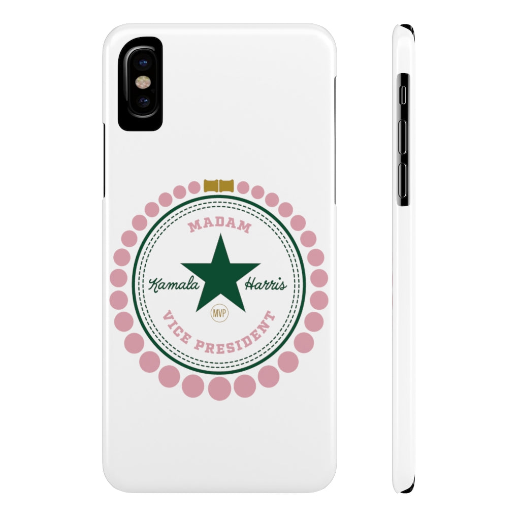 Madam Vice President Slim Phone Case
