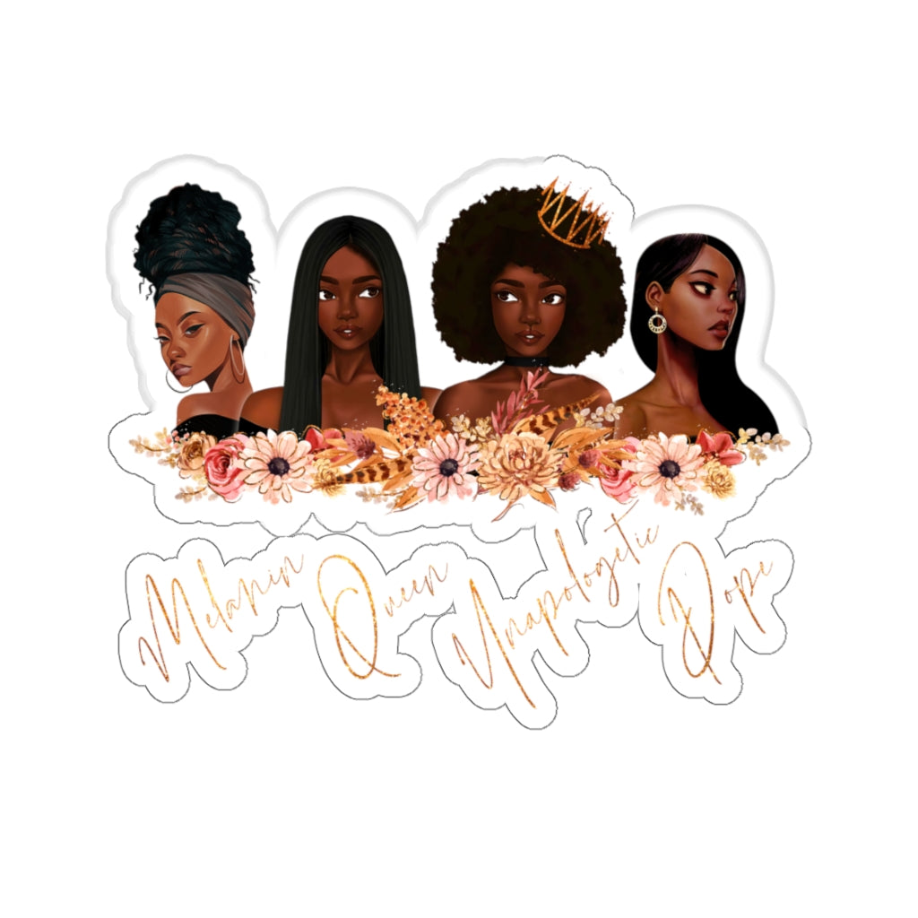 Melanin Queens Sticker