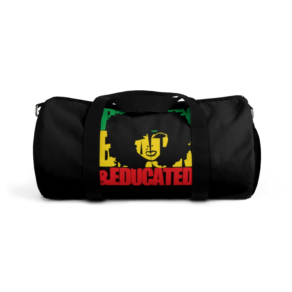 Pretty Black Educated Mom Duffel Bag