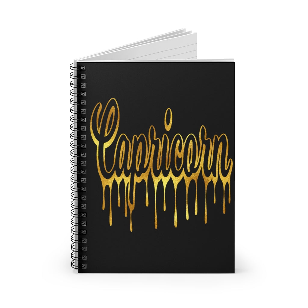 Capricorn Drip Notebook