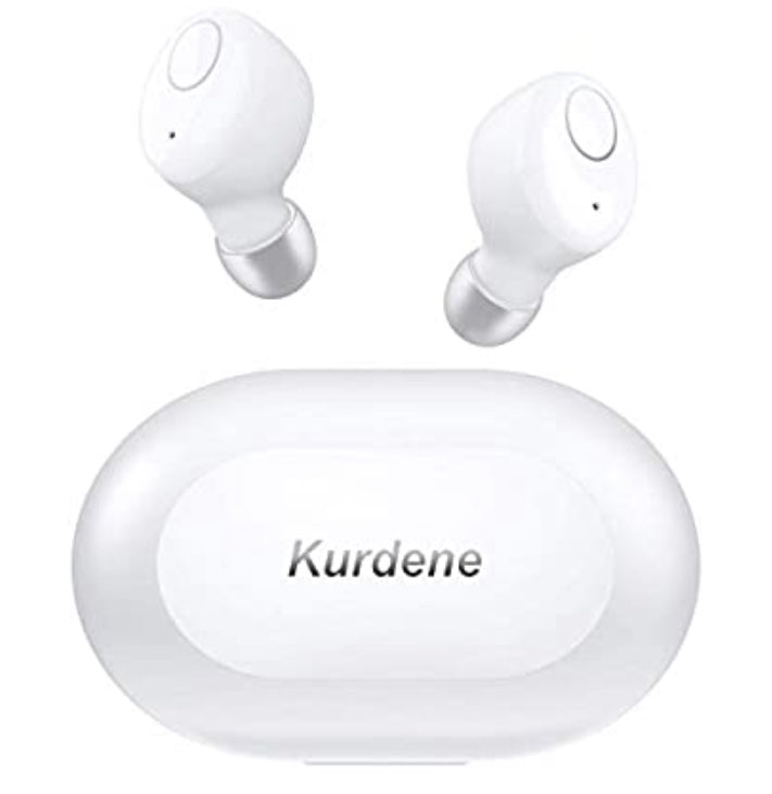 Kurlene Wireless Earbuds - White