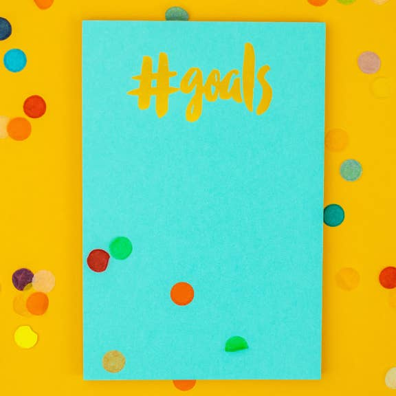 Goals Notepad