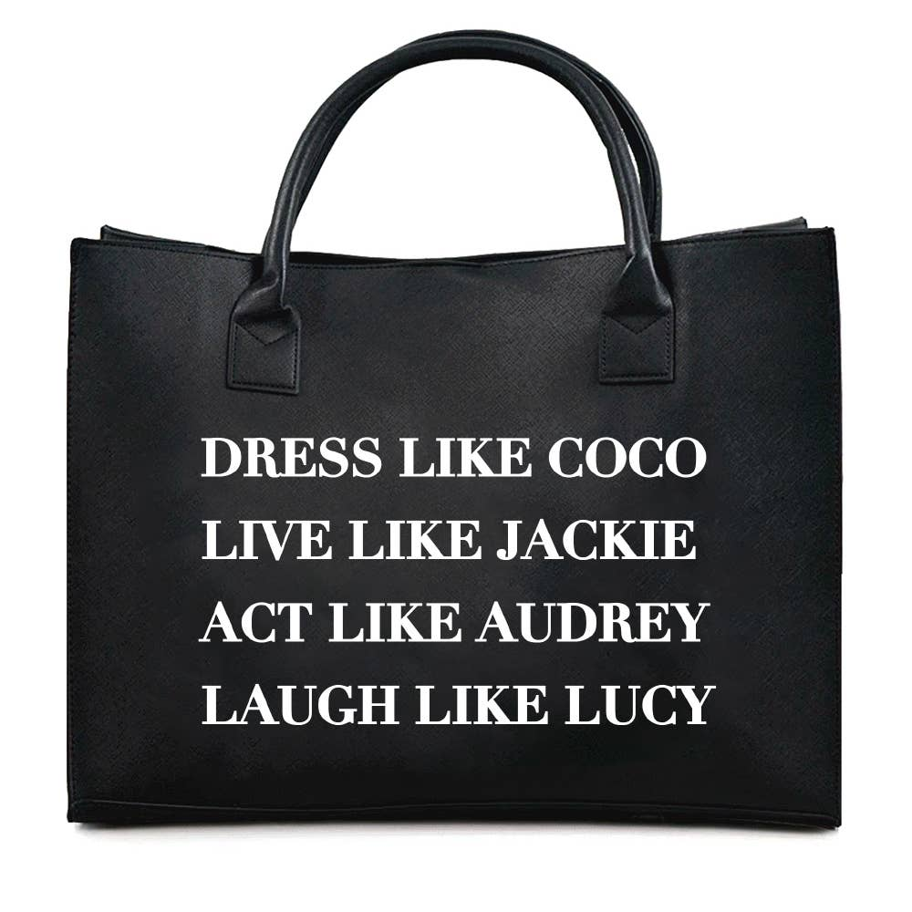 Dress Like Coco B - Vegan Tote