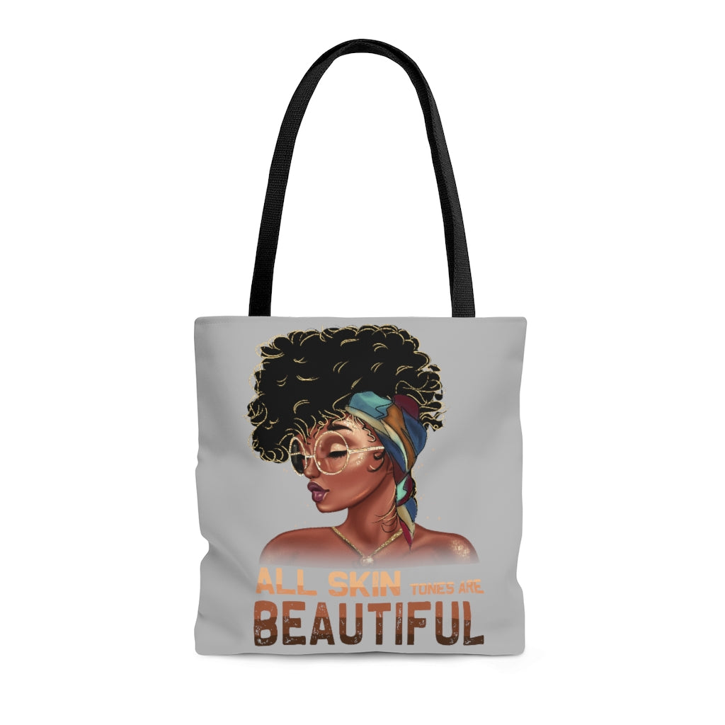 Beautiful Skin Tote Bag