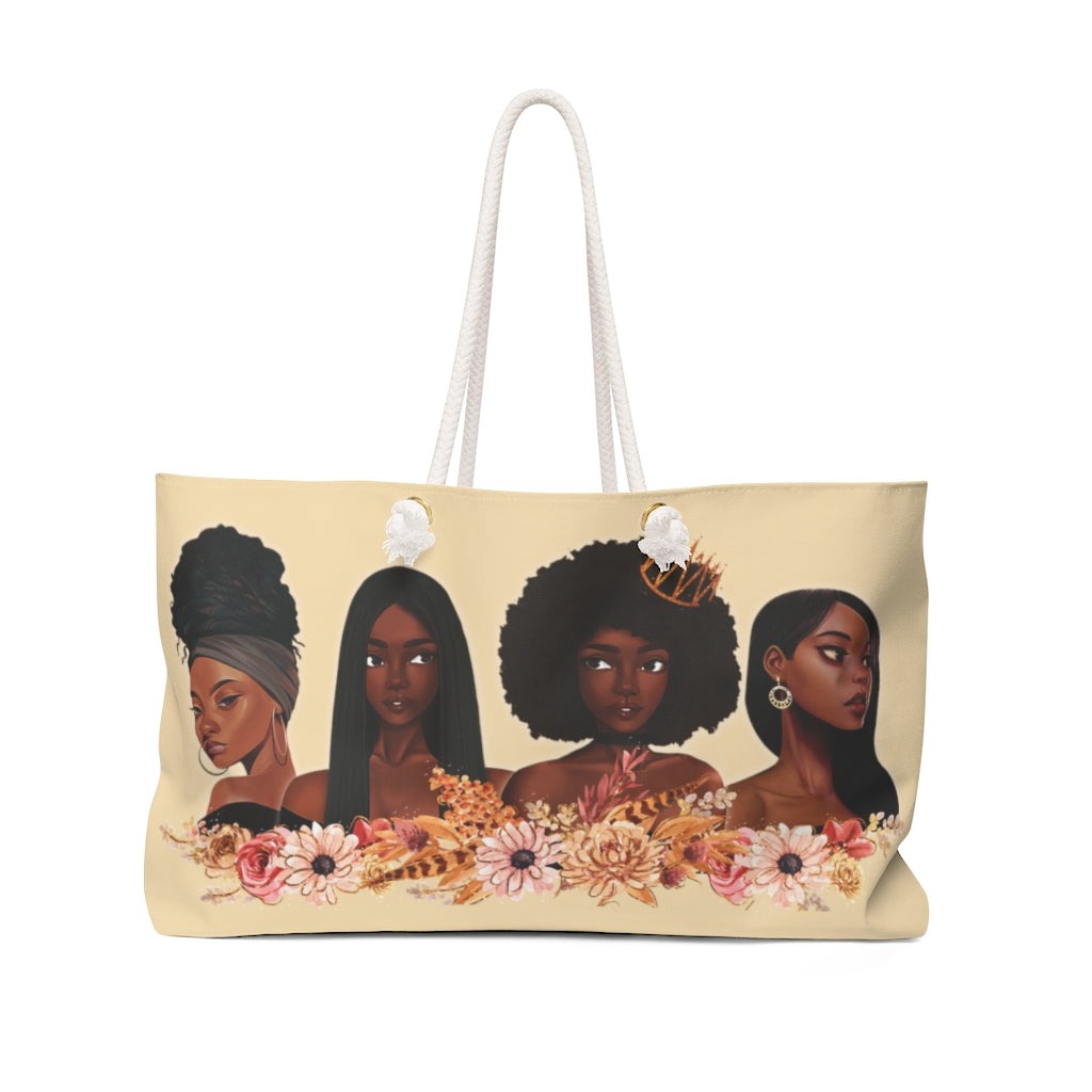 Melanin Queens Weekender Bag