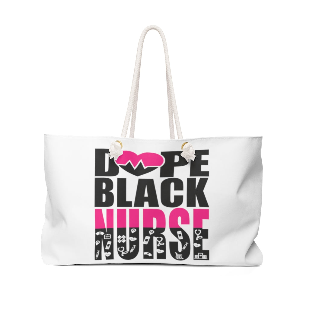 Dope Black Nurse Weekender Bag