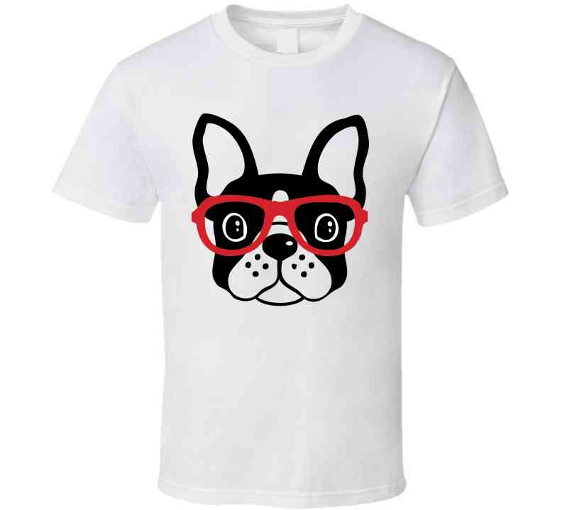 Boston Terrier Ladies T-Shirt