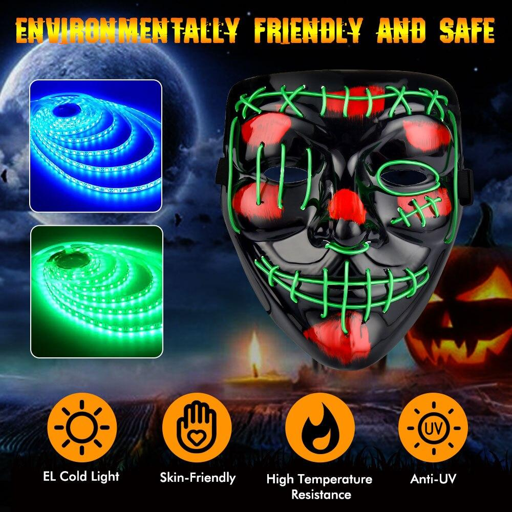 LEDMask™ - Halloween LED Mask 2020 - DealDeploy