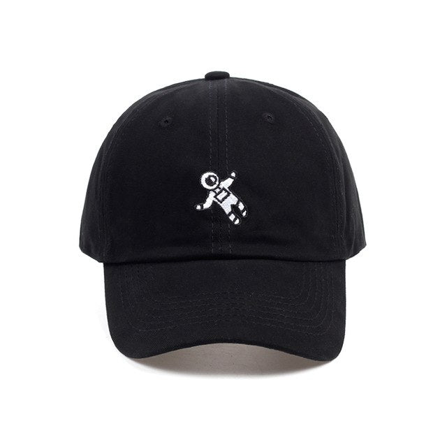 newest spaceman embroidery baseball cap 4 colors available unisex fashion dad hats adjustable cotton snapback hats casual caps