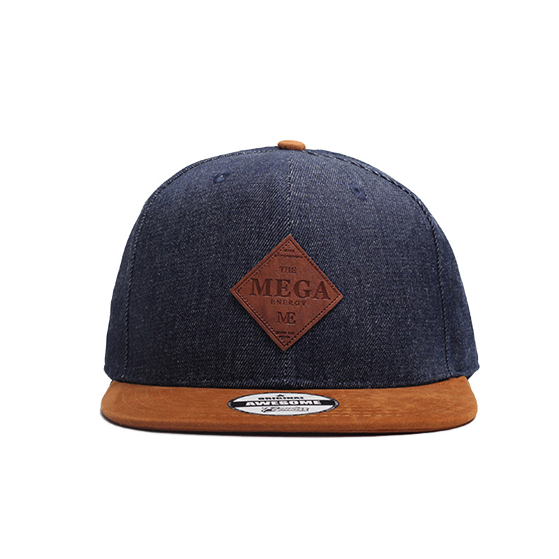 MNKNCL High Quality Snapback Cap MEGA Embroidery Brand Flat Brim Baseball Cap Youth Hip Hop Cap and Hat For Men and Woman