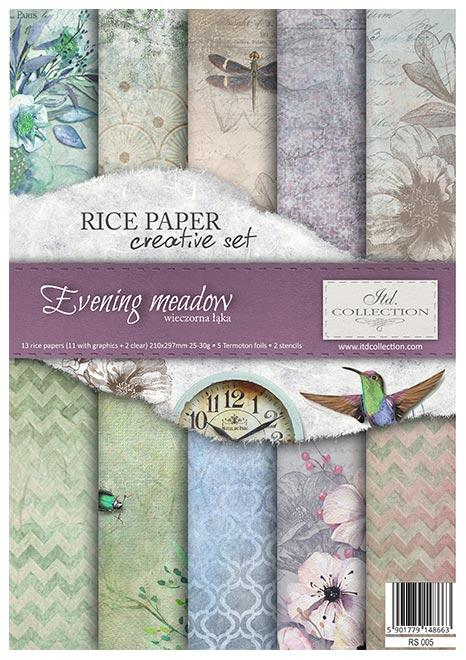 Evening Meadows Creative Rice Paper Set