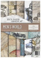 Men's World Creative Rice Paper Set