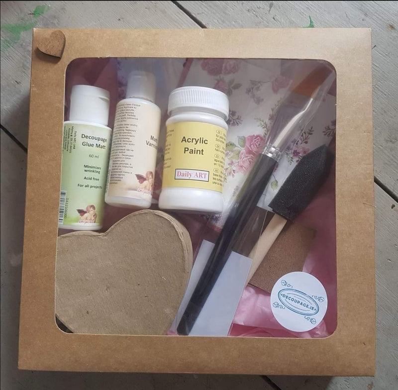 Decoupage Starter Kit - Standard and Large