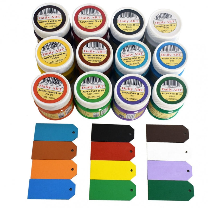 Acrylic Paint Set 12 x 50 ml