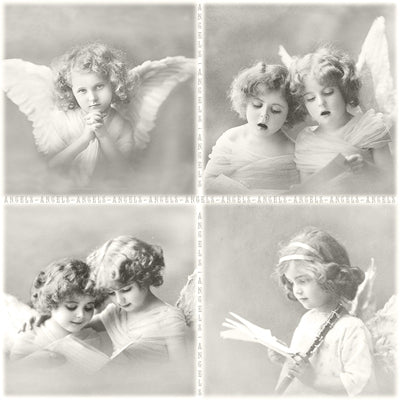 Angel Edit - 10 premium napkins