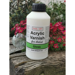 Daily Art Gloss Varnish 500ml Bottle from Decoupage.ie