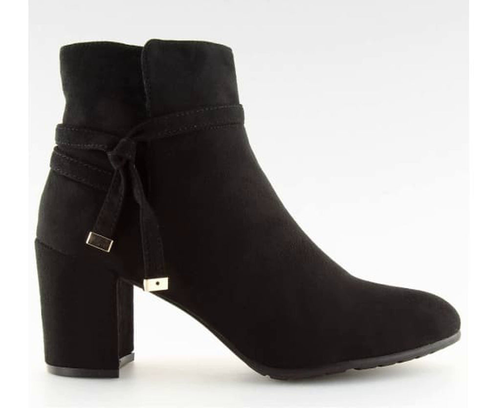 Ankle Heel boots with straps - Footwear Ankle boots black black boots black shoes block heel boots